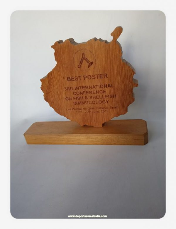 Trofeos Grabados en Madera